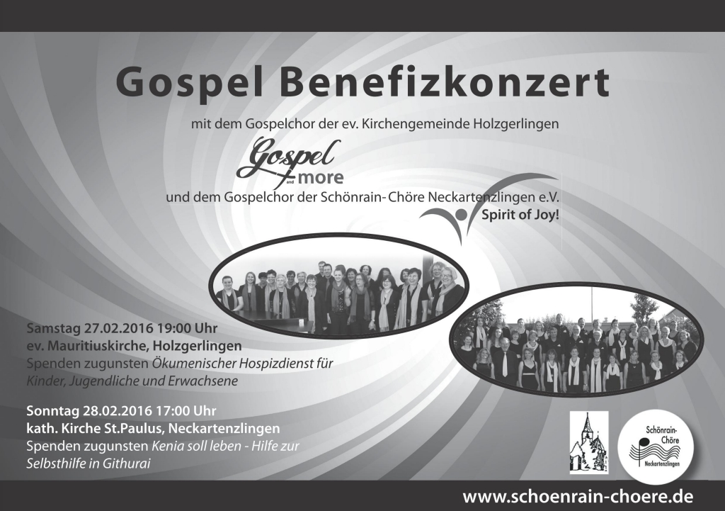 Gospel Benefiz 2016 sw